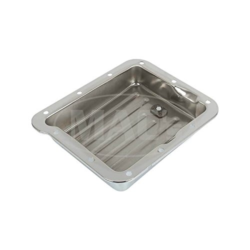 MACs Auto Parts 42-75449 C-4 Chrome Stamped Steel Transmission Pan