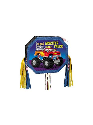 Monster Truck Pull Pinata – Each, Health Care Stuffs