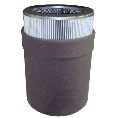 Solberg 685P Polyester Filter Element, 28-1/2'' Height, 14'' Inner Diameter, 19-5/8'' Outer Diameter, 6600 SCFM by Solberg