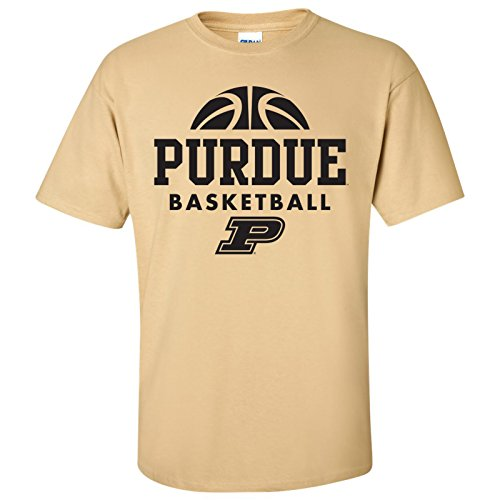 Purdue Boilermakers Basketball Hype Mens T-Shirt - 2X-Large - Vegas - Show Las Fashion Shops Vegas At