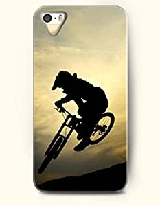 OOFIT Phone Case design with Bicycle Motocross for Apple iPhone 5 5s 5g