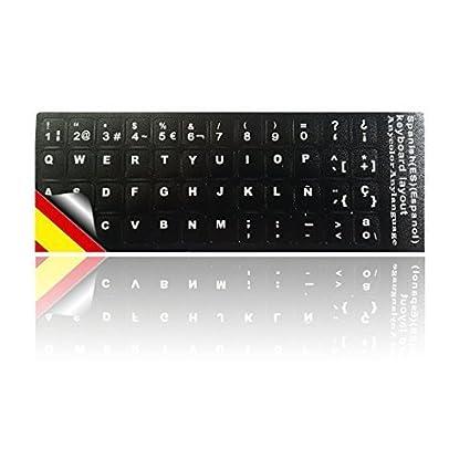 Pegatinas para teclado de Ledeli. Para PC, portátil, Notebook u ordenador (teclado