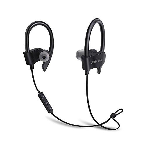 OIOSEN Auriculares Bluetooth, Impermeable In-Ear Bluetooth V4.1 Audífonos Deportivos Inalámbricos para Correr, Gym,...