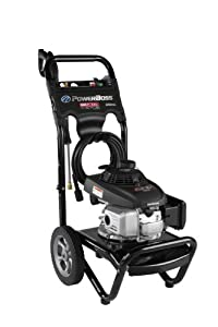PowerBoss 2800 PSI 2.3 GPM Honda GCV160 Engine Gas Pressure Washer with Easy Start Technology