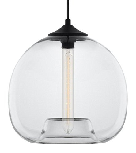Clear Glass Light Pendant Lamp