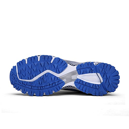 Men Walking Gym Shoes Trainers Fitness Sports Blue Sollomensi Sneakers Cushion Athletic Air Running dAvp1dxqwB