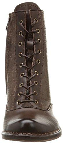Neosens ROCOCO - botas de cuero mujer marrón - marrón