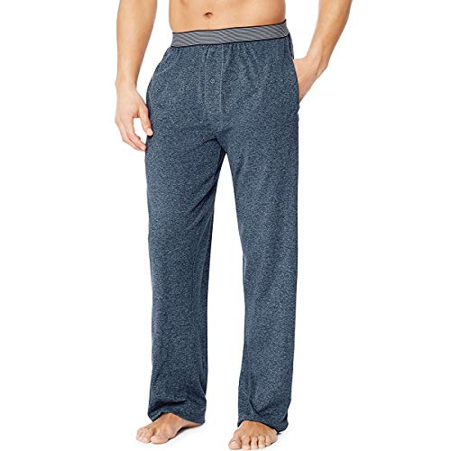 Hanes X-Temp Men`s Jersey Pant with Comfort