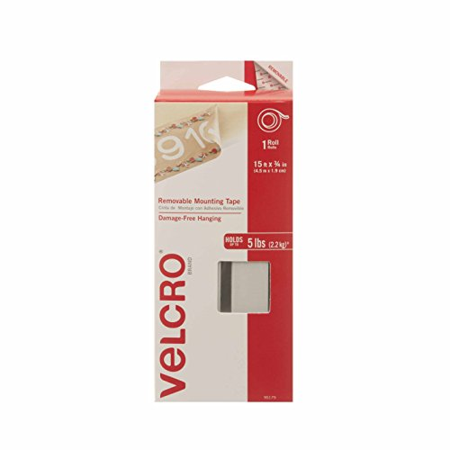 """VELCRO Brand - Removable Mounting Tape - 15' X 3/4"""""""