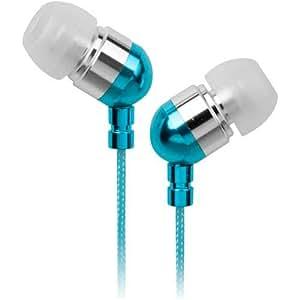 Energy Sistem Urban 300 - Auriculares intrauditivos con funda de neopreno, color azul