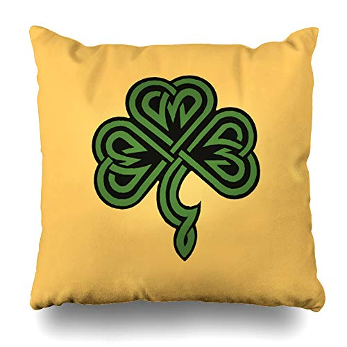 Decorativepillows Case Throw Pillows Covers for Couch/Bed 20 x 20 inch,and Prayer Celtic Green Faith Inspirational Home Sofa Cushion Cover Pillowcase Gift Bed Car Living Home