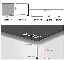 ANYCUBIC Ultrabase Plataforma Impresora 3D con Cama caliente y ...
