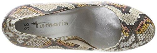 Multicolore Multicol 22407 Tamaris snake Sun Fermé Bout Escarpins Femme YnqPT