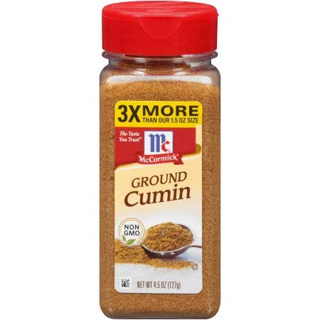McCormick Ground Cumin, 7.62 oz. (Pack of 4)