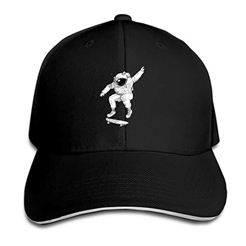 SFSDFS Space Skateboarder Baseball Cap Dad Hat Trucker Hats for Men Women