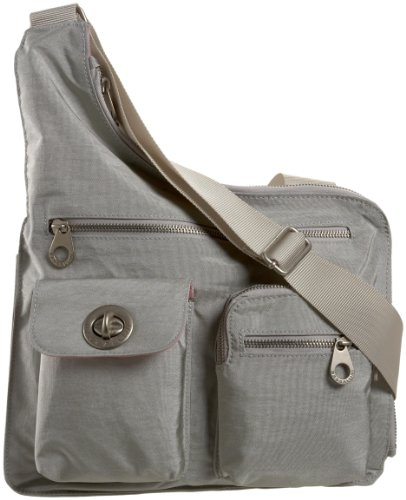 Baggallini Luggage London Bag, Silver, One Size, Bags Central