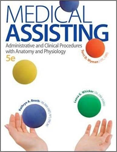 Medical assisting administrative and clinical procedures with medical assisting administrative and clinical procedures with anatomy and physiology 5th edition 5th edition fandeluxe Gallery