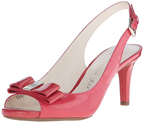 Anne Klein Women's Stephania Dress Pump, Medium Pink, 8 M US
