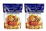 John Wm. Macys All Natural Asiago & Cheddar Cheese Crisps 11 oz (2 Pack),