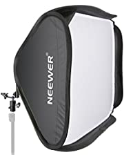 "Neewer 24""x24"" Collapsible Softbox Kit for Nikon Sb900 Sb800 Sb600,Canon 580exii 580ex 430exii 430ex,Neewer Tt860,Tt850,Tt560,Yongnuo Flash Speedlite"