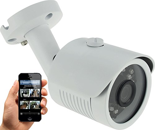 HDView H.265 4MP Megapixel HD IP Network Camera PoE WDR Wide Dynamic Range 2.8mm Wide Angle Lens IR Infrared Bullet ONVIF
