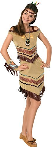 Rubie's Costume Dramalicious Teen Native Princess Costume, Brown, Teen by Rubie's (Image #1)