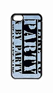 Foreverway Custom iPhone 5C Case , I Like To Party And By Party I Mean Take Naps Hard Plastic Protective Cases Cover --1942
