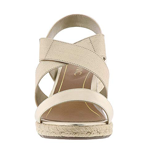 Champagne Talum Ainsleigh Leather Womens Sandals VIONIC 1XfFwqn15x