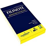 BLOCO DE PAPEL RECICLADO 90X140MM 80 FOLHAS COLORIDOS FILIPERSON FILIPERSON