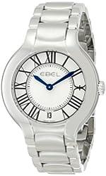 "EBEL Women's 1216070 ""Beluga"" Analog Display Swiss Quartz Silver Dress Watch"