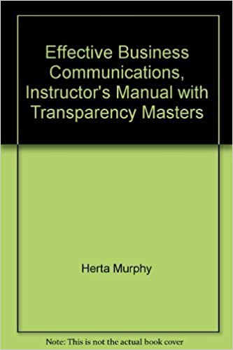 Book Effective Business Communications For