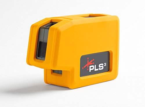New PLS3 3-point Red Beam Laser Level PLS-60523N by Pacific Laser Systems