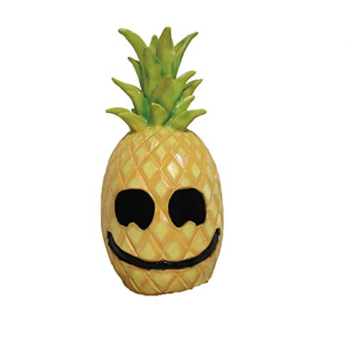 Halloween Mask, Pineapple Latex Mask Funny Fruit Head