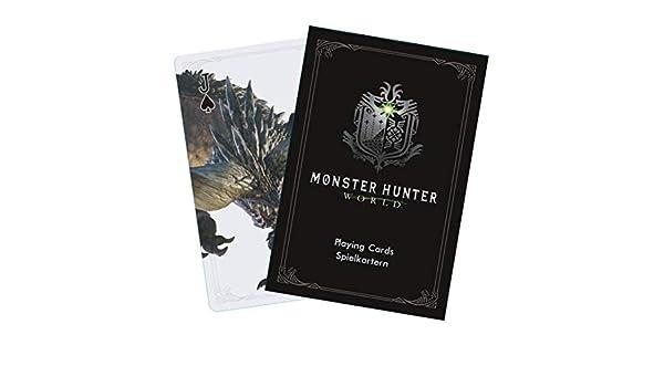 Monster Hunter World MHW - Juego de Cartas de Monster Hunter ...