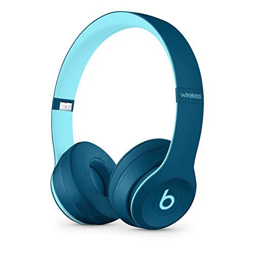 Beats Solo3 Wireless On-Ear Headphones – Beats Pop Collection – Pop Blue (Renewed)