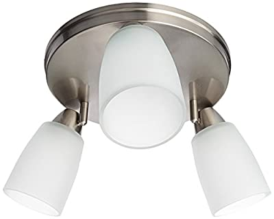 Progress Lighting P3361-09 GU24 Directional Close to Ceiling, 3-18-watt