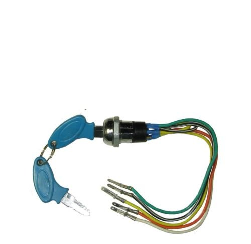 Lumix GC 5 wires Keys Ignition 33cc 43cc 49cc 50ccc For Mini Pocket Chopper Bike Harley Scooter Moped Bike Parts (Mini Harley Chopper compare prices)