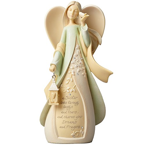 Enesco Foundations Sister (Green) - Gift Collectible