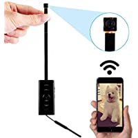 SANPROV Wifi Spy Camera 1080P Wireless Mini Hidden Camera with Motion Detection for iPhone/Android Phone/ iPad Remote View(support 128G SD card)
