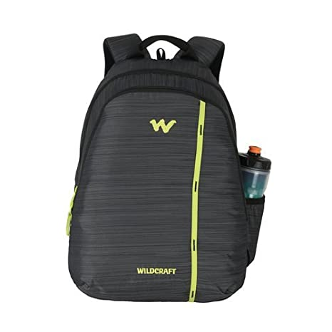 f712b3e0f3 Wildcraft 35 Ltrs Black Casual Backpack (11614-Black)  Amazon.in  Bags
