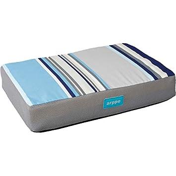 Arppe 280037060007 Colchón Visco Venus, Azul: Amazon.es: Productos para mascotas