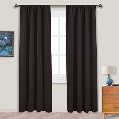 NICETOWN 84 Bedroom Curtains and Drapes - Energy Smart Therm