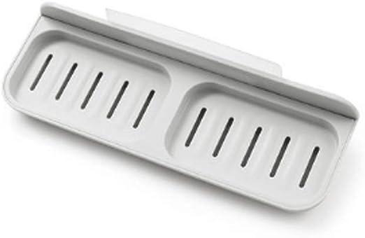 FZJDX Caja de jabón - Sucker Jabonera Perforación Libre Soporte ...