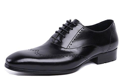 Dilize Chaussures à Lacets Homme Noir