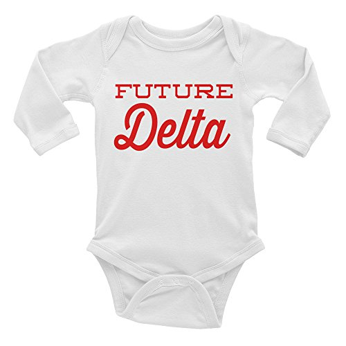 ShowYourLove Future Delta Sigma Theta Legacy Infant Long Sleeve Onesie