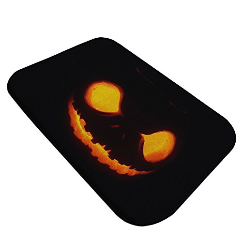 Stretoey Halloween Door Mats, Halloween Pumpkin Mat Home Decor,15.7 x 23.6 inches (Halloween Door Cover Ideas)