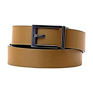 "KORE Men's Track Belt | ""Express"" Metal Buckle & Top-Grain Leather Bel"