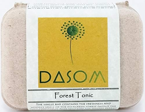 Dasom Forest Tonic Bar Soap with Certified Organic ingredients without the harmful chemical.