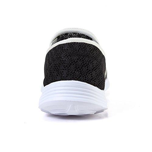 Black On Dry Beach Shoes Shoes Womens Slip HQUEC Breathable Quick Water Aqua Shoes Mesh OFwZ8q1