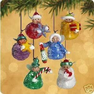Hallmark SUGAR PLUM FAIRIES Ornament Miniature (Sugar Plum Fairy Stocking)